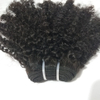 Raw 100% Unprocessed Human Mongolian Afro Kinky Curly Braiding Hair Extensions