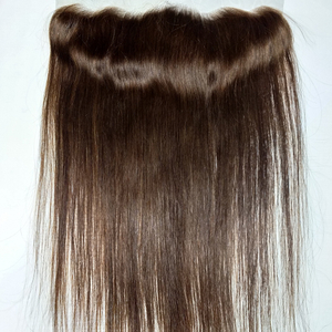 8A Human Color #4 Straight Hair Weft Peruvian Hair