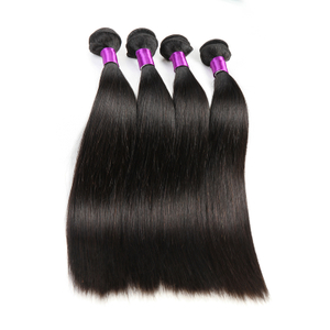 Can Be Ironed 8a Remy Silky Straight Wave Human Hair Bundle